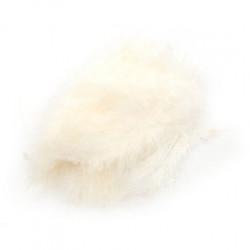 Піря декоративне біле (5-8см) (12гр) 7007 Украина
