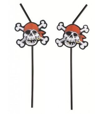 Трубочки для коктелю Пірати 8шт/уп 551940 Amscan
