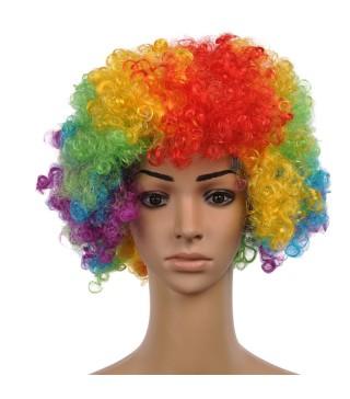 Парик Клоуна цветная