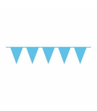 Гірлянда прапорці голубі 9903788 Amscan