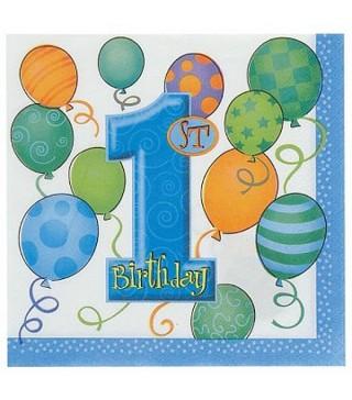 Салфетки 1-st Birthday boy