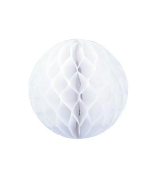 Паперові кулі-соти декор. білий . 30см 49816 Китай