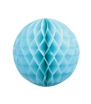 Паперові кулі-соти декор. голубий. 30см 75026 Китай