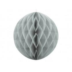 Паперова куля-соти сіра  30см