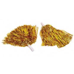 Помпони для черлідінгу 2 шт./уп.золото 27621 Китай