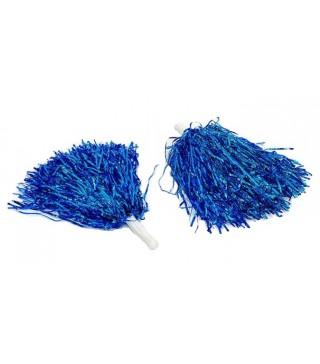Помпони для черлідінгу голубі 2 шт./уп.