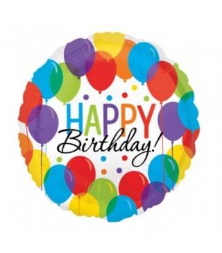 "Кульки фольг. з малюнк. ""Happy Birthday "" кульки 43см(2,5г) 32112 Amscan"