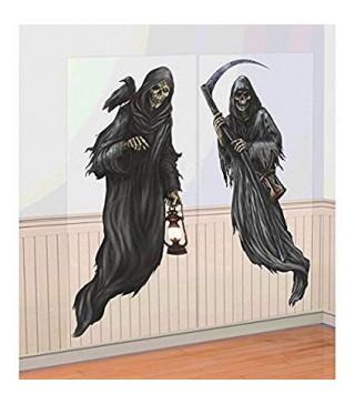 """Декорація Банер Декорація на стіну """" Смерть 85*165,1см 670462 Amscan"""