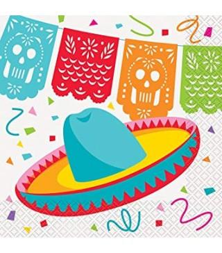 "Серветки Мексіканська забава""16шт/уп 58682 Unigue"