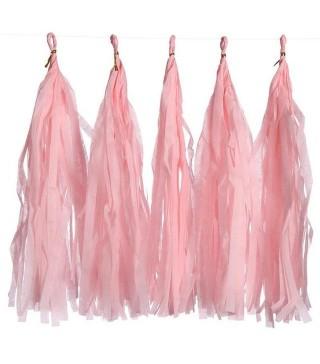 Гірлянда Помпони рожеві