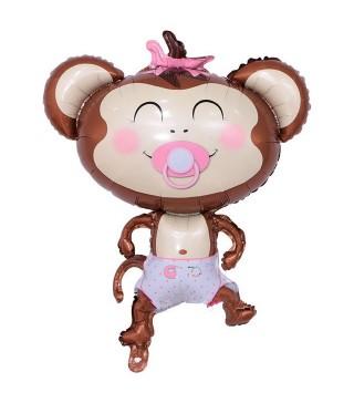 Кульки фігур. Мавпочка дівчинка (4г) 21566 Китай