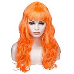 Перука хвиляста помаранчева