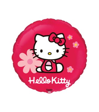 Шарик фольгированный Hello Kitty