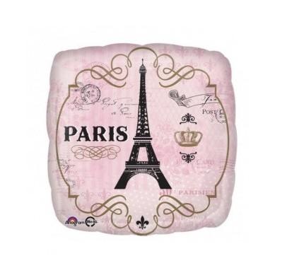 Шарик фольгированный Париж