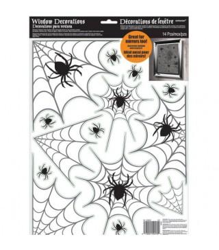 Декорація-наліпка Павучки