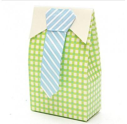 Бонбоньєрка Сорочка з краваткою БО-310214 Китай