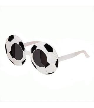 Очки Футбол черно-белые