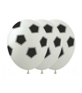 Набір кульок '' Футбол'' білі NB-10152 Iмпреза