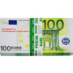 Пачка грошей 100 євро