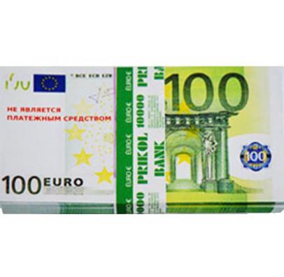Пачка денег 100 евро