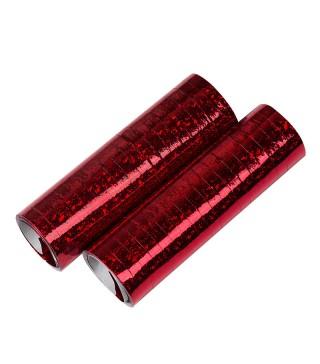Серпантин голограма червоний 998334 Godan