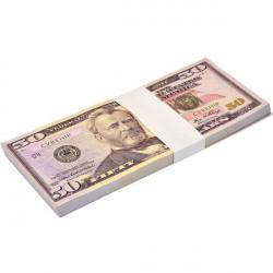 Пачка грошей 50 доларів