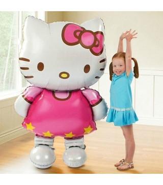 Кульки фігур. Hello Kitty 110*83 см(5г) 21648 Китай