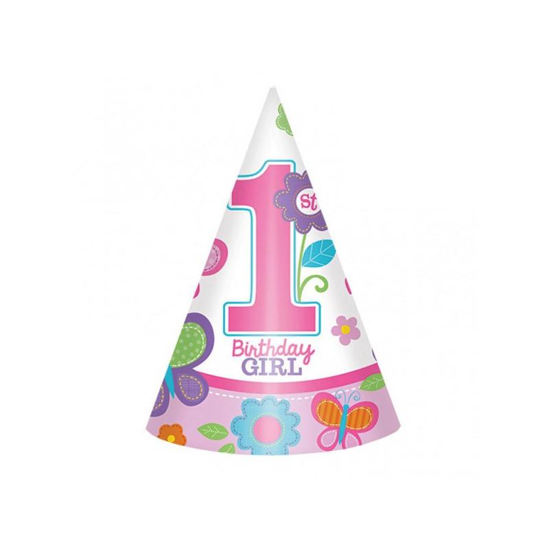 Колпачок 1-st Birthday girl