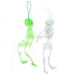 Скелет 21см білий резина C-2128