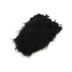 Піря декоративне  (5-8см) (12гр) чорне піря 7009