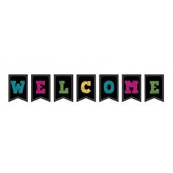 Гірлянда прапорці Welcome 1.5м папір F-90430