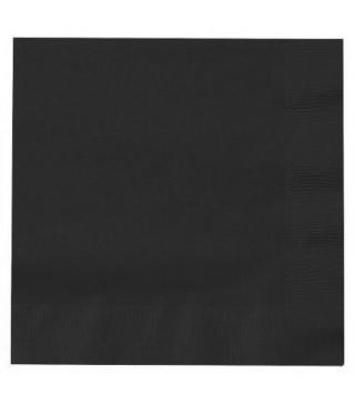 Серветки чорні 20 шт/уп