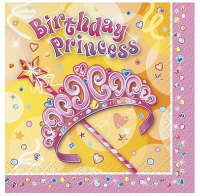 Салфетки Birthday Princess