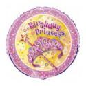 Шарик фольгированный Birthday Princess