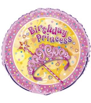 Кулька повітряна Birthday Princess