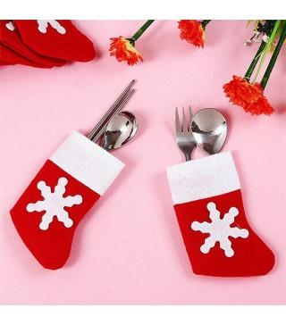 Носок Санти з сніжинкою 5959 Китай