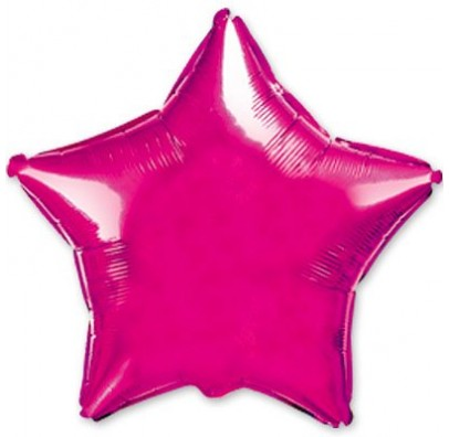 Кульки фольг.б/м ЗІРКА Фуксія   2,5г) фольга 301500(F) FlexMetal