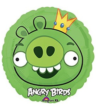 Кулька фольгована Angry Birds