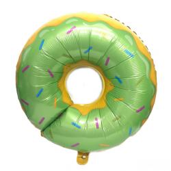 Кулька фольгована фігурна Пончик рожевий