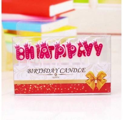 "Свічка ""Happy Birthday""""Прінцес"" парафін 453186 Китай"