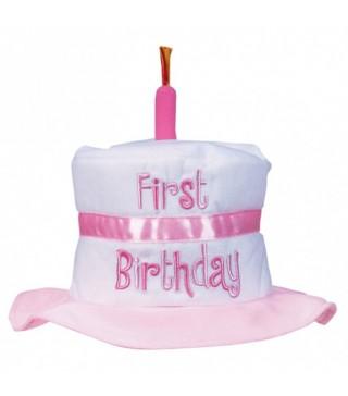Шляпа 1-й день рождения девочки