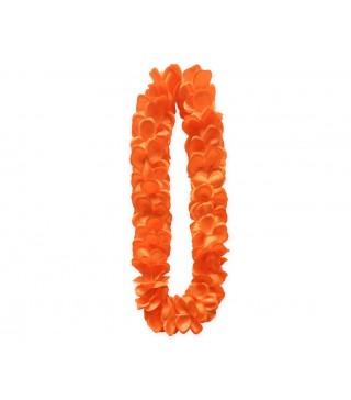 Леи гавайские на шею Оранжевые
