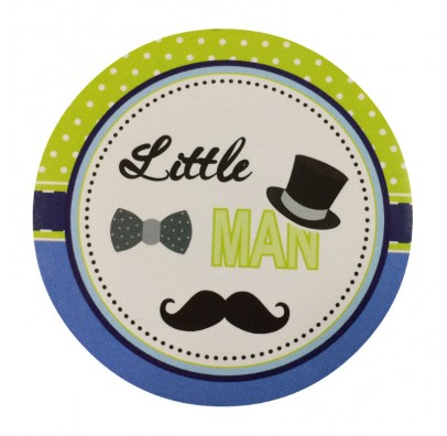 Наклейка Little Man папір Н-0128