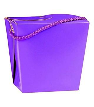 Коробка подарочная фиолетовая