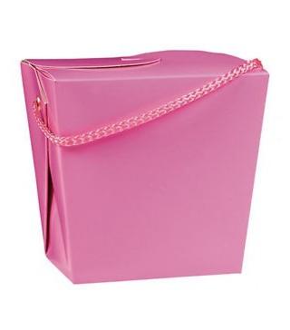 Коробка подарункова рожева