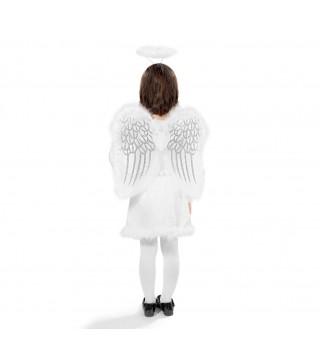 Набор Ангела крылья, обруч (с перьями)