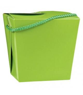 Коробка подарункова салатова