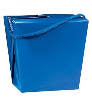 Коробка подарункова синя
