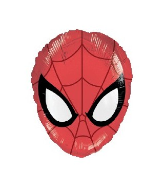 Шарик фольгированный Спайдермен голова