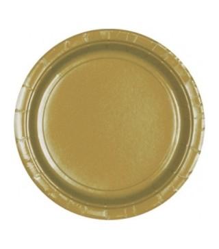Тарілки Золоті 8шт/уп